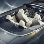 BMW Série 8 Cabriolet 2019 vue aérienne