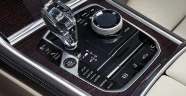 BMW Série 8 Cabriolet 2019 console centrale