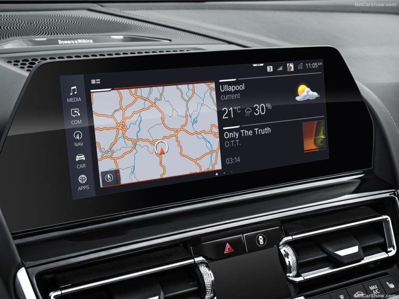 BMW Série 8 Cabriolet 2019 écran tactile