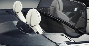BMW Série 8 Cabriolet 2019 places arrières