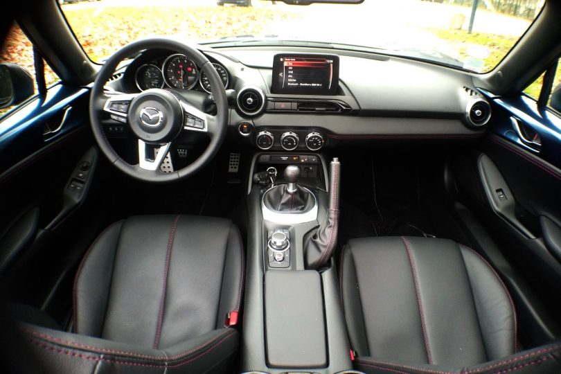 Mazda MX-5 Aki Editon habitacle