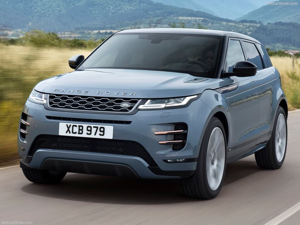 Land Rover Range Rover Evoque 2019 3/4 avant