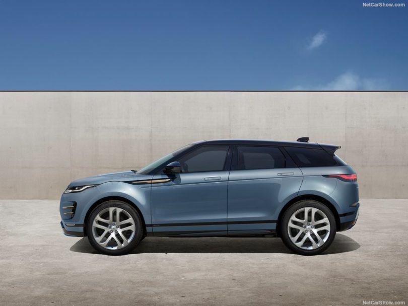 Land Rover Range Rover Evoque 2019 de profile