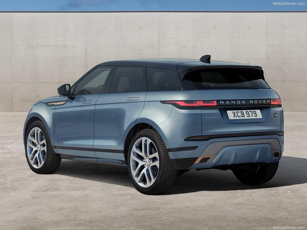 Land Rover Range Rover Evoque 2019 3/4 arrière