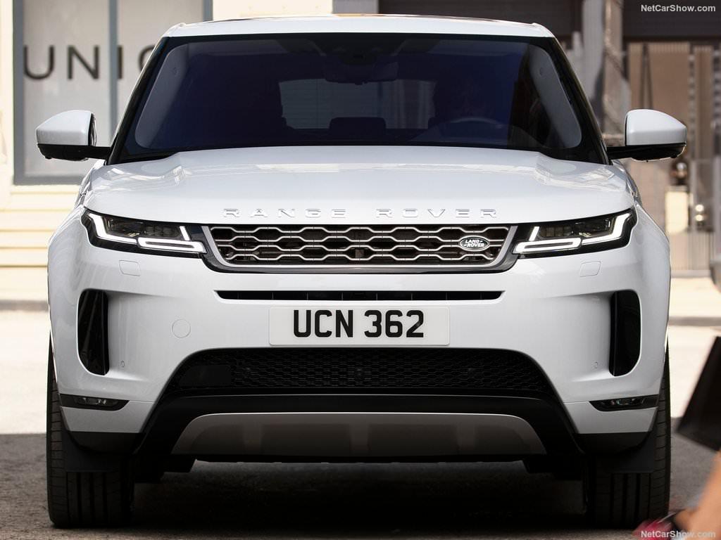Land Rover Range Rover Evoque 2019 face avant version blanc