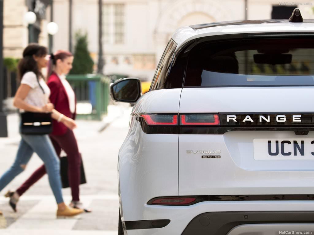 Land Rover Range Rover Evoque 2019 bandeau arrière