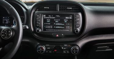 Kia Soul EV 2019 écran tactile