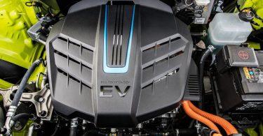 Kia Soul EV 2019 bloc moteur