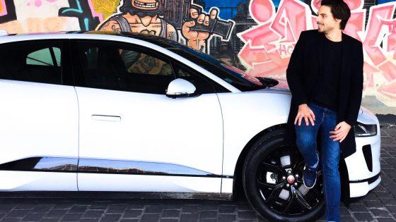 Essai Jaguar I-Pace 100% électrique Matthieu Roux pour Monautonews