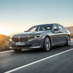 BMW Série 7 2020 sur route