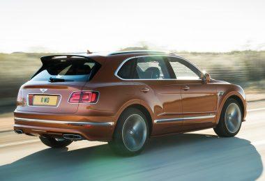 Bentley Bentayga Speed sur route