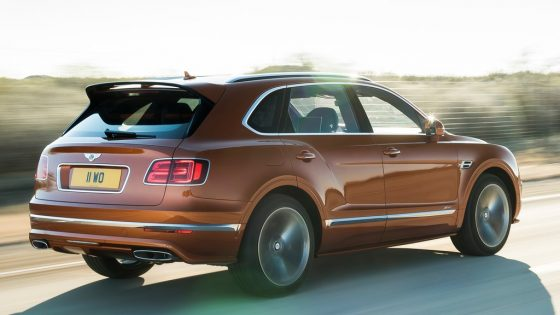 Bentley Bentayga Speed sur route