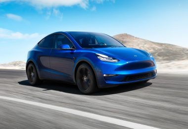 Tesla Model Y Face avant