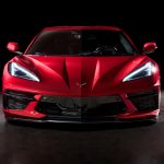 Chevrolet Corvette 2020 face avant