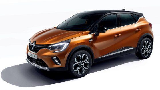 Renault Captur 2020 studio