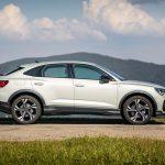 Audi Q3 Sportback 2020 de profil