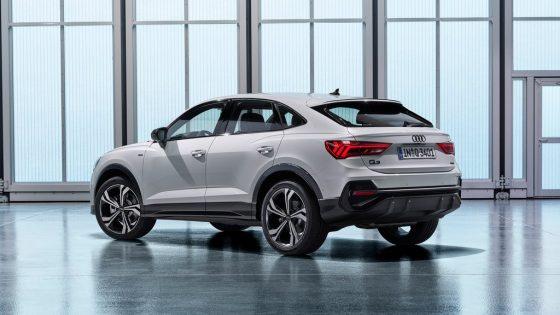 Audi Q3 Sportback 2020 toit arrière
