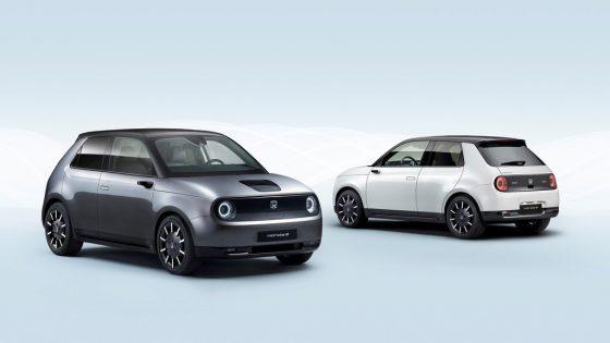 présentation Honda e 2020