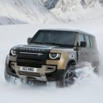 Galerie Land Rover Defender 2020 version 110 3/4 avant