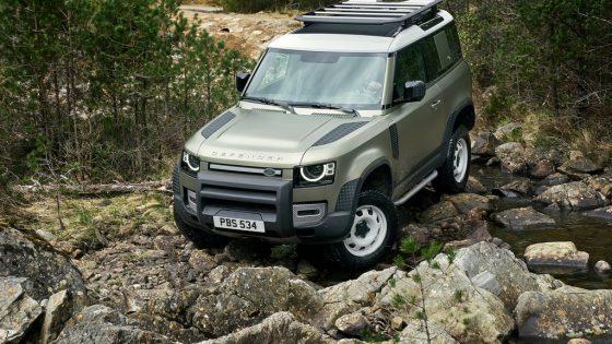 Galerie Land Rover Defender 2020 version 90
