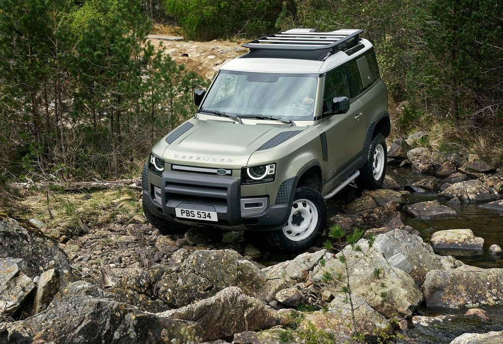 Galerie Land Rover Defender 2020 version 90