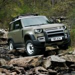 Galerie Land Rover Defender 2020 version 90 3/4 avant