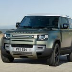 Galerie Land Rover Defender 2020 version 90 face avant