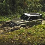 Galerie Land Rover Defender 2020 version 90 mode tout terrain