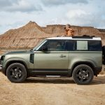 Galerie Land Rover Defender 2020 version 90 de profil