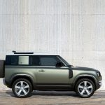 Galerie Land Rover Defender 2020 version 90 de côté