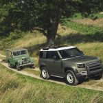 Galerie Land Rover Defender 2020 version 90 version 1983