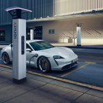 recharge Porsche Taycan 2020