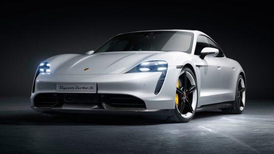 Porsche Taycan 2020 face avant