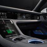 console centrale Porsche Taycan 2020