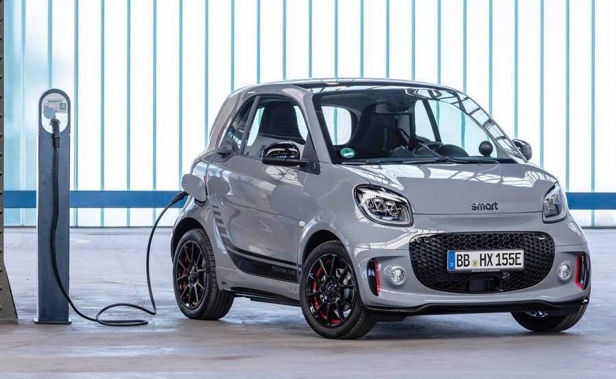 Smart ForTwo 2020 en charge