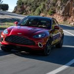 Aston Martin DBX 2021 test sur route