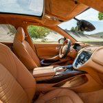 Aston Martin DBX 2021 console centrale