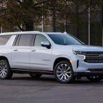 Chevrolet Suburban 2021 nouvelle calandre