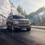 Chevrolet Suburban 2021 face avant