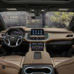 Chevrolet Suburban 2021 tableau de bord