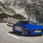 Jaguar F-Type 2020 sur route