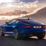 Jaguar F-Type 2020 vue arrière
