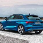 Audi A3 2021 arrière