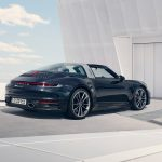 Porsche 911 Targa 2021 vue arrière