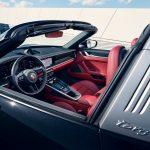 Porsche 911 Targa 2021 habitacle