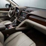 Bentley Bentayga 2021 planche de bord