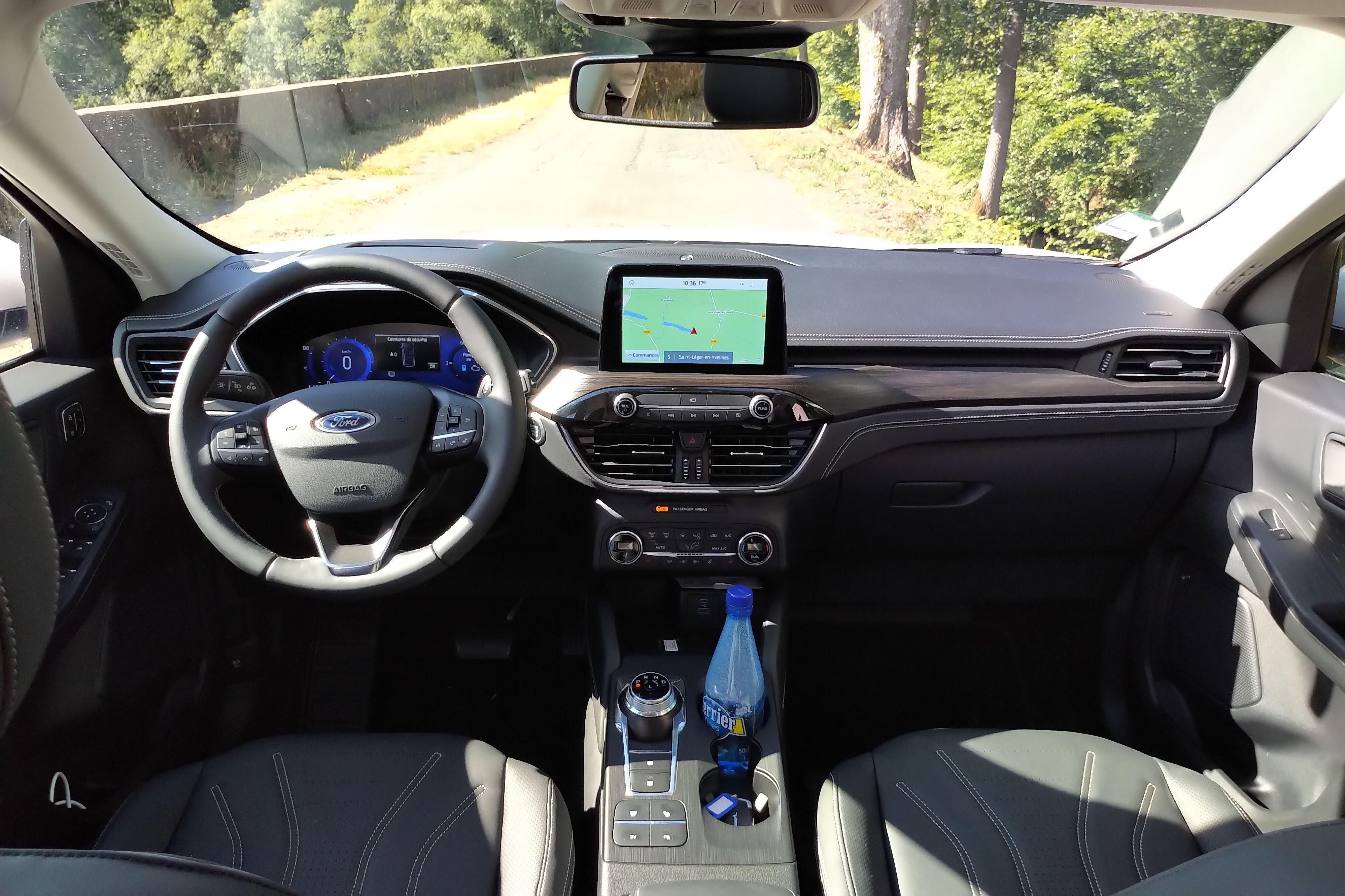 Ford Kuga PHEV 2021, économiquement attrayant - ESSAI PHOTOS