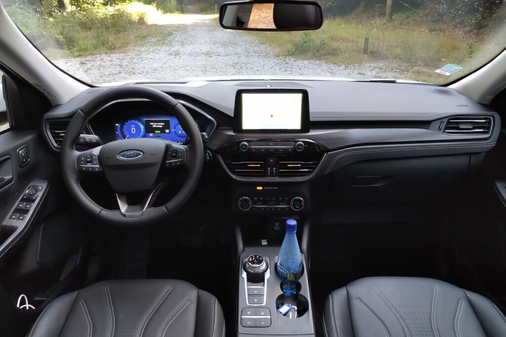 console centrale Ford Kuga PHEV 2021