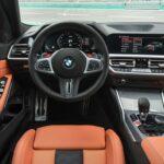 au volant de la BMW M3 2021