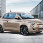 Fiat 500 électrique 3+1, face avant